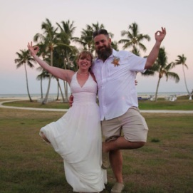 Marrying my love in Islamorada